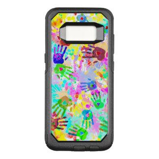 holiES - Hände spritzt farbiges Schmutzmuster 2 OtterBox Commuter Samsung Galaxy S8 Hülle