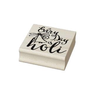 holiES - jeder Tag ist Holi + Ihr backgr. u. Ideen Gummistempel