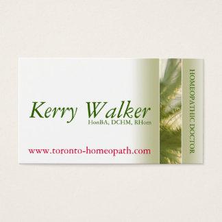 Holistischer Praktiker Visitenkarte