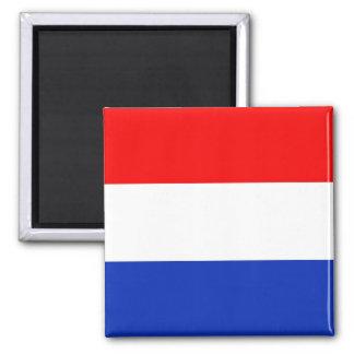Holland-Flagge Quadratischer Magnet