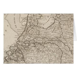 Holland, Friesland, Groningen, Overyssel Karte