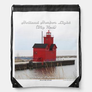 Holland-Hafen-Licht - Drawstring-Rucksack Sportbeutel
