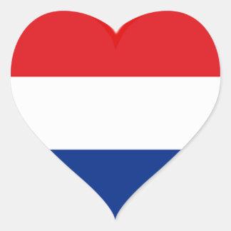 Holland-Liebe Herz Sticker