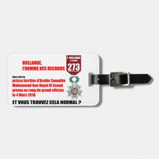 Holland Record Legions von Honneur - Luggage Tag Kofferanhänger