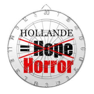 Hollande nicht Hoffnung = Horror - Dartboard Dartscheibe