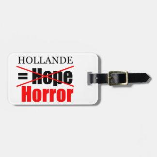 Hollande nicht Hoffnung = Horror - Gepäck-Umbau Kofferanhänger