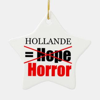Hollande nicht Hoffnung = Horror - Keramik Ornament