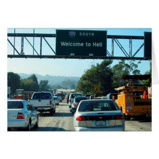 Hölle ist die Autobahn 405 Karte