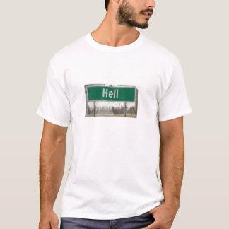 Hölle vorbei eingefroren T-Shirt