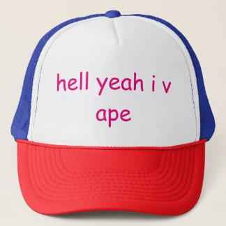 Hölle Yea I vape Truckerkappe