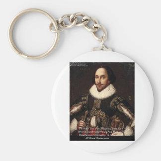"""""""Höllen-Ansteckungs-"""" Zitat-Geschenke Shakespeare Schlüsselanhänger"""