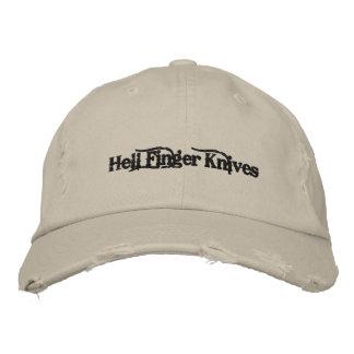 Höllen-Finger-Messer-Hut Bestickte Baseballkappe