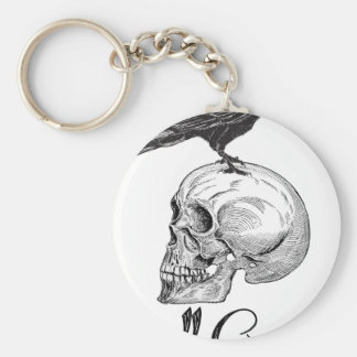 Höllen-Krähe Halloween Schlüsselanhänger