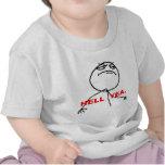 Hölleyea-Raserei-Gesicht Meme Hemden