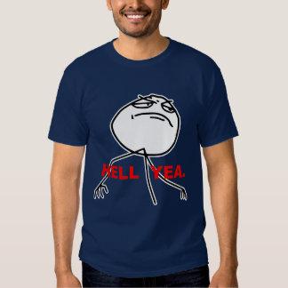 Hölleyea-Raserei-Gesicht Meme Shirt