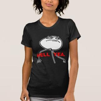 Hölleyea-Raserei-Gesicht Meme T-Shirts