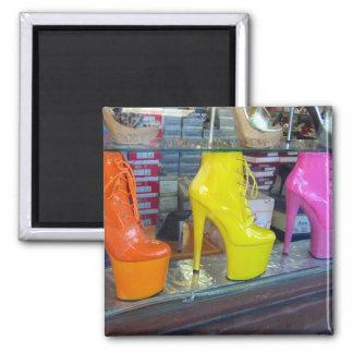 Hollywood-Boulevard-Schuhe Quadratischer Magnet