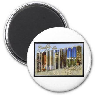 Hollywood Runder Magnet 5,1 Cm