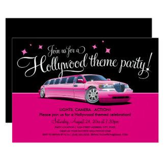 Schön Hollywood Thema Party Einladungen
