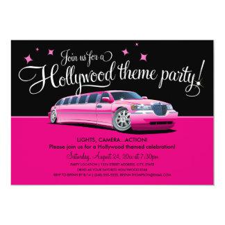 Hollywood-Thema-Party Einladungen