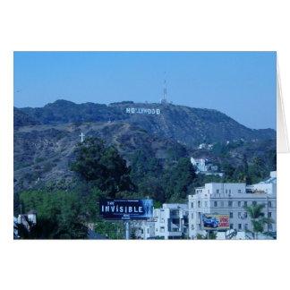 Hollywood-Zeichen Karte