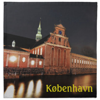 Holmens Kirche (Kirke) in Kopenhagen, Dänemark Serviette