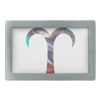 Hologramm Widder Rechteckige Gürtelschnallen