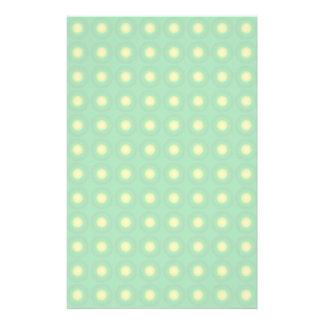 Holperiges grünes Muster Bedrucktes Papier