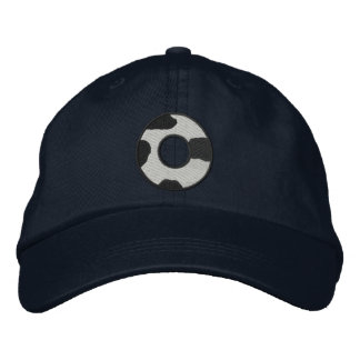 Holstein-Buchstabe O Bestickte Baseballkappen
