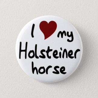 Holsteiner Pferd Runder Button 5,1 Cm