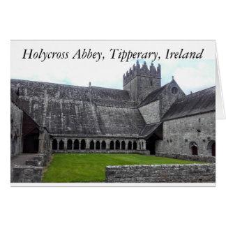 Holycross Abtei, Fotokarte Tipperarys, Irland Karte