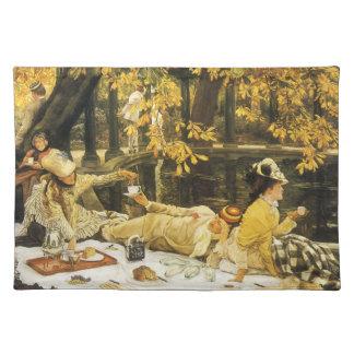 Holyday, das Picknick durch James Tissot, Tischset