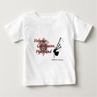 Holyoke kaledonisches Rohr-Band Baby T-shirt