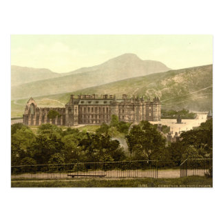 Holyrood Palast, Edinburgh, Schottland Postkarte