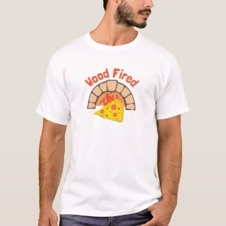 Holz abgefeuert T-Shirt