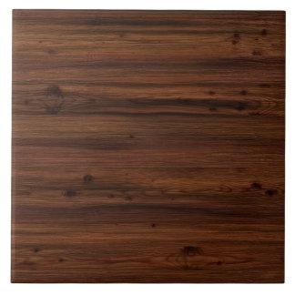 Holz des dunklen Brauns Keramikfliese