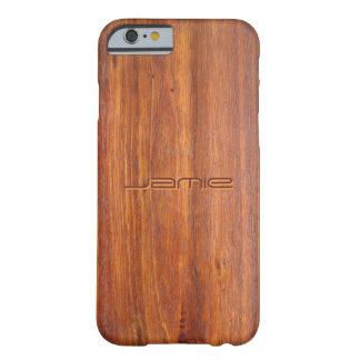 Holz kundengebundenes iPhone 6 Fallabdeckungen Barely There iPhone 6 Hülle