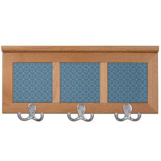 Holz-u. Fliesen-Mantel-Gestell - blauer