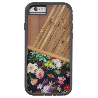 Holz und Blumen Iphone Fall Tough Xtreme iPhone 6 Hülle