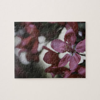 Holzapfel-Baum-Blüten-Puzzlespiel Puzzle
