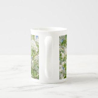 Holzapfelblüte Porzellantasse
