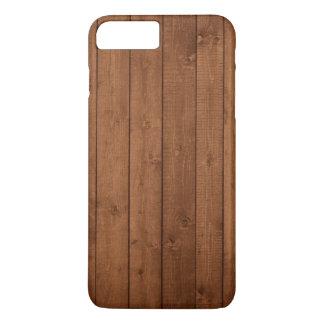Hölzerne Barken, hölzerne Bretter, Planken - Brown iPhone 8 Plus/7 Plus Hülle