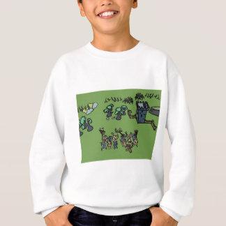Hölzerne Elfe gegen Beastmen Sweatshirt