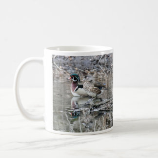 Hölzerne Ente Kaffeetasse