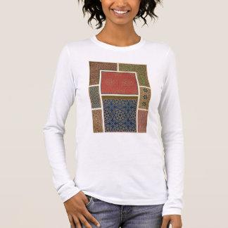 Hölzerne Fächer und Grenzen, 'von der arabischen Langarm T-Shirt