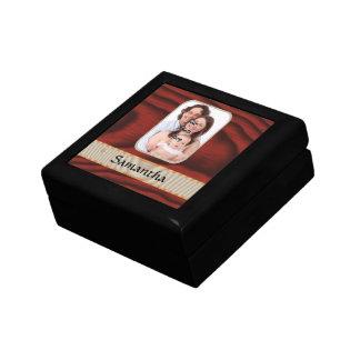 Hölzerne Fotoschablone des kundenspezifischen Geschenkbox
