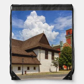 Hölzerne Gelenkkirche in Kezmarok, Slowakei Turnbeutel