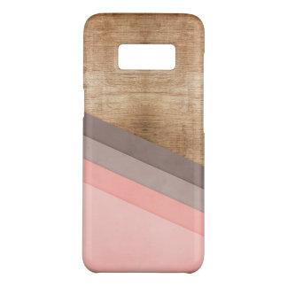 Hölzerne geometrische Kunst Case-Mate Samsung Galaxy S8 Hülle