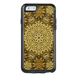 Hölzerne Handwerks-Mandala OtterBox iPhone 6/6s Hülle