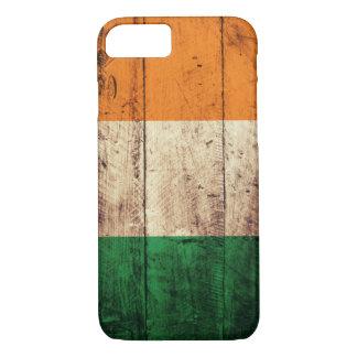 Hölzerne Irland-Flagge iPhone 8/7 Hülle